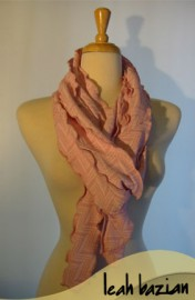 Pieced Scarf in Pink